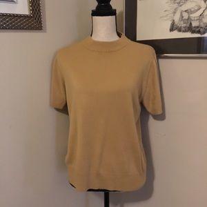 Shirtsleeve Sweater Top